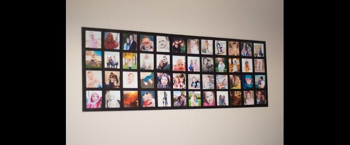 Collage  de Fotografías para tu Muro